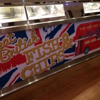 Photo taken at Great British Fish & Chips by Michael C. on 1/7/2014