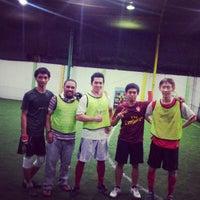 Photo taken at De Futsal by Fega J. on 4/19/2013