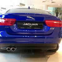 Снимок сделан в Автосалон Inchcape. Официальный дилер Jaguar. пользователем Владимир 9/16/2017