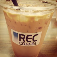 Photo taken at Rec Coffee by とりやんぐ on 7/13/2013