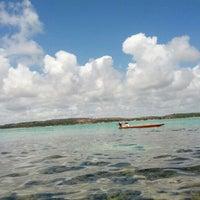 Photo taken at Banco De Corais - Maragogi by Felipe S. on 12/30/2012