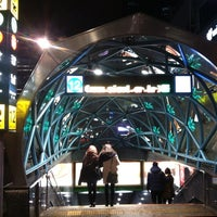 Photo taken at Gangnam Stn. by Pancho K. on 1/1/2013