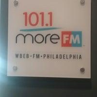 Photo taken at More FM Studios (WBEB-FM) by David W. on 10/5/2017