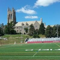 Photo taken at Saint Joseph's UniversityTrack by David W. on 10/11/2017