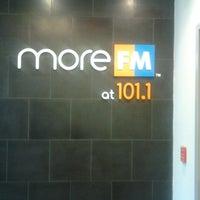 Photo taken at More FM Studios (WBEB-FM) by David W. on 9/1/2014