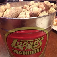 Photo taken at Logan's Roadhouse by Mike C. on 1/1/2013
