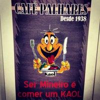 Photo taken at Café Palhares by Jô M. on 5/3/2013