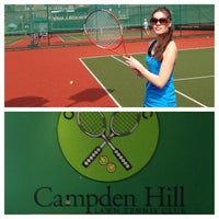Photo taken at campden hill lawn tennis club by Marleen V. on 4/21/2014