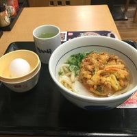 Photo taken at なか卯 広島大手町店 by さちわん on 3/24/2016