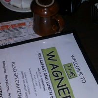 Photo taken at Wagner Restaurant by Jason R. on 9/23/2012