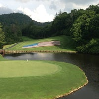 Photo taken at Highlands Falls Country Club by Taylor M. on 7/3/2013
