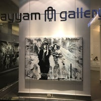 Photo taken at Ayyam Gallery by Fareed A. on 4/17/2017