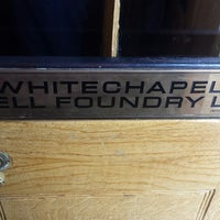 Photo taken at Whitechapel Bell Foundry by Am P. on 5/17/2014