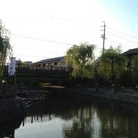 Photo taken at 「龍馬とお龍、愛の旅路」像 by Kuma on 4/24/2014
