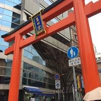 Photo taken at 生田神社参道 by Kuma on 1/22/2015