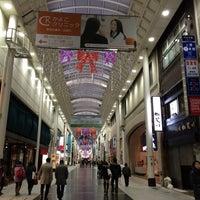 Photo taken at 上通アーケード by Kuma on 12/17/2014