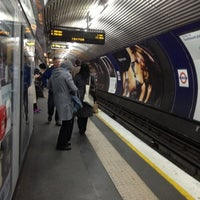 Photo taken at Old Street London Underground Station by Namer M. on 11/29/2012