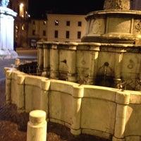 Photo taken at Fontana della Pigna by Namer M. on 11/15/2013