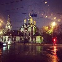 Photo taken at Храм Святителя Николая в Хамовниках by Daria K. on 4/27/2013