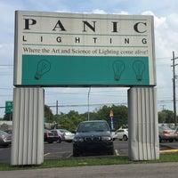 Photo taken at Panic Lighting by Nate F. on 9/1/2015