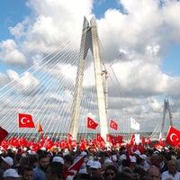 8/26/2016 tarihinde Mehmed Y.ziyaretçi tarafından Yavuz Sultan Selim Köprüsü'de çekilen fotoğraf