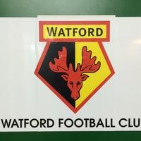 Photo taken at Watford Football Club training ground by Thomas G. on 7/10/2015