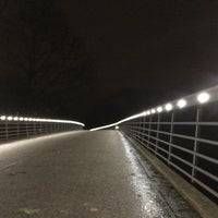 Photo taken at Karl-Birkmann-Brücke (Zoobrücke) by Thomas G. on 2/9/2016