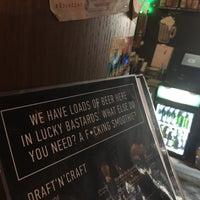 Снимок сделан в Lucky Bastards Irish Pub пользователем Vadim P. 3/21/2017