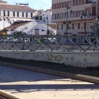 Photo taken at Puente de los Alemanes by Abraham N. on 4/25/2014