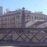 Photo taken at Puente de los Alemanes by Abraham N. on 5/6/2014