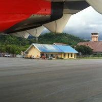 Photo taken at Tampa Padang Airport (MJU) by Wirasandi R. on 12/29/2012