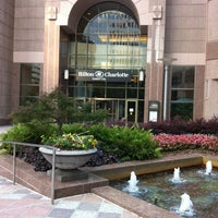 Photo taken at Hilton Charlotte Center City by Liz B. on 6/16/2013