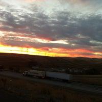 Photo taken at Altamont Pass by Liz B. on 11/14/2012