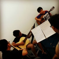 Photo taken at The Fifth Music Academy by Marlene Y. on 11/5/2013