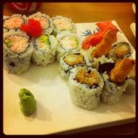 Photo taken at Yoyogi Sushi by Seth Tuju L. on 10/11/2012