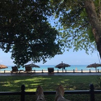 Photo taken at Thande Beach Hotel by Lindsey W. on 3/10/2017