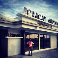 Photo taken at Godofredo P. Ramos Airport (Boracay Airport) / Caticlan Airport (MPH/RPVE) by Jann T. on 10/9/2012