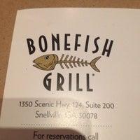 Photo taken at Bonefish Grill by Manda B. on 4/23/2014