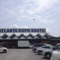 Photo taken at Scott Antique Market (Atlanta Expo Center South) by Manda B. on 5/10/2013