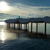 Photo taken at Tahoe Park Homeowners Beach by Lauren R. on 1/28/2017