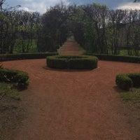 Photo taken at Zámecká zahrada Chrast by Yarmila 4. on 4/16/2017