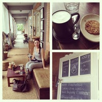 Photo taken at Karma Coffee by Karoline L. on 9/22/2013