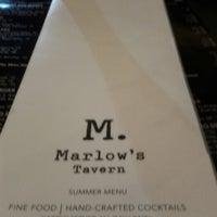 Photo taken at Marlow's Tavern by Vishi G. on 9/16/2012