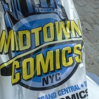 Photo taken at Midtown Comics by Sean B. on 7/6/2013