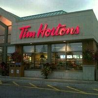 Photo taken at Tim Hortons by Doug T. on 9/18/2012