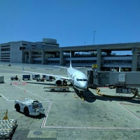 Photo taken at Gate A2 by James B. on 6/18/2016