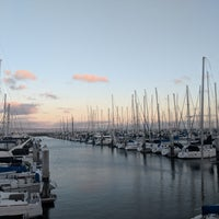 Photo taken at South Beach Marina by James B. on 2/15/2018
