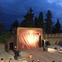 Photo taken at Υπαίθριο Θέατρο Φρουρίου Τρικάλων by Vagelis K. on 7/5/2016
