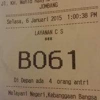 Photo taken at Bank BNI Cabang Jombang by Dani A. on 1/6/2015