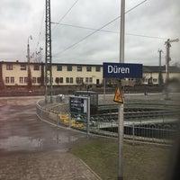 Das Foto wurde bei Bahnhof Düren von Rebekka B. am 2/22/2017 aufgenommen